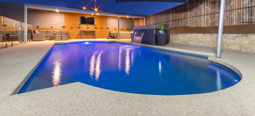 perth seamless pool edging